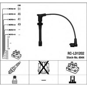 Комплект проводов зажигания 4944 ngk - LADA 110 седан 1.5 16V