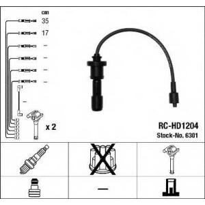 NGK 6301 Ккомплект проводов зажигания