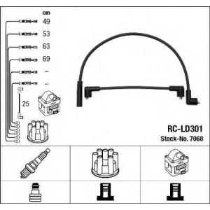 7068 ngk Комплект проводов зажигания LADA SAMARA Наклонная задняя часть 1300