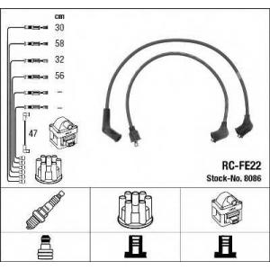 8086 ngk Комплект проводов зажигания SUBARU LEONE седан 1800 4WD