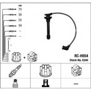 NGK 8246 Комплект проводів запалення