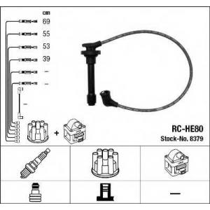Комплект проводов зажигания 8379 ngk - HONDA ACCORD IV (CB) седан 2.2 i 16V Automatik (CB7)