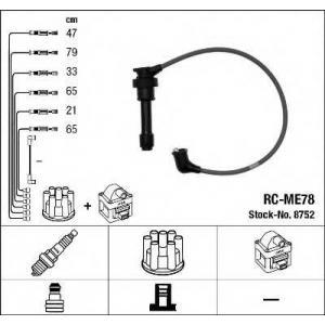 Комплект проводов зажигания 8752 ngk - MITSUBISHI GALANT V седан (E5_A, E7_A, E8_A) седан 2.0 V6-24 (E64A, E54A)