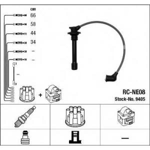 Комплект проводов зажигания 9405 ngk - NISSAN SUNNY III (N14) седан 1.4 i