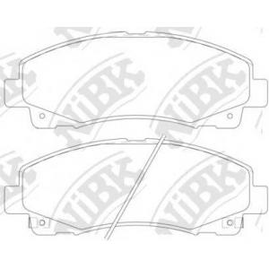 NIBK pn28003 Колодки тормозные дисковые