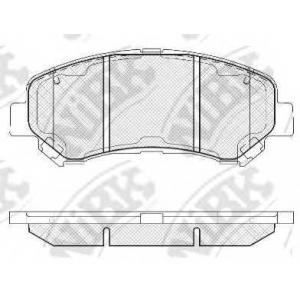 Колодка торм. Nissan Qashqai,X-Trail/Renault Koleo pn2801 nibk -
