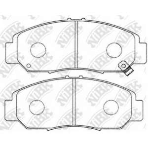 Колодка торм. Honda Accord CU1 11- (пр-во MK Kashi pn8465 nibk -