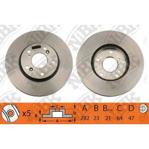 NIBK rn1218 Тормозной диск