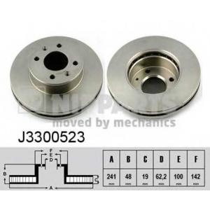 NIPPARTS J3300523 Тормозной диск