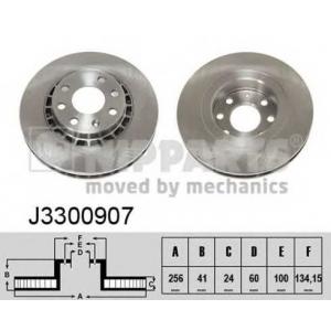 NIPPARTS J3300907 Тормозной диск