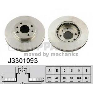NIPPARTS J3301093