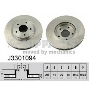 NIPPARTS J3301094 Тормозной диск