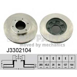 NIPPARTS J3302104 Гальмiвнi диски