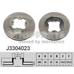 NIPPARTS J3304023