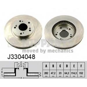 NIPPARTS J3304048 Тормозной диск