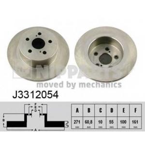 NIPPARTS J3312054 Тормозной диск