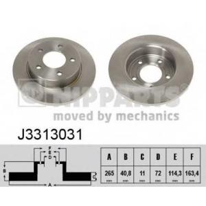 NIPPARTS J3313031 Диск гальмівний