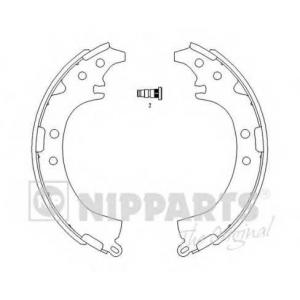 NIPPARTS J3502050 Комплект тормозных колодок