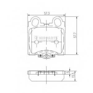 NIPPARTS J3612017