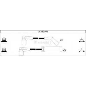 NIPPARTS J5380906 Комплект проводiв запалювання