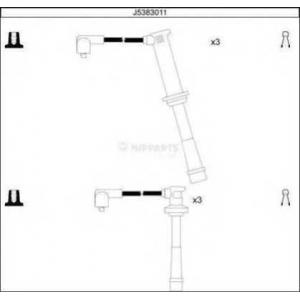 NIPPARTS J5383011 Високовольтні кабелі