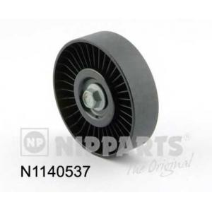 NIPPARTS N1140537 Паразитный / ведущий ролик, поликлиновой ремень