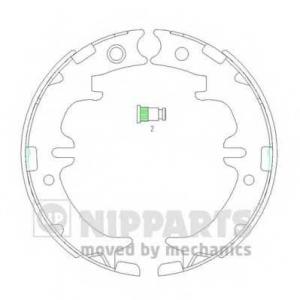 NIPPARTS N3502083 Гальмiвнi колодки, к-кт.