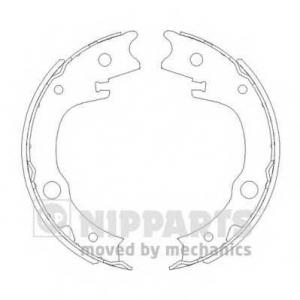 NIPPARTS N3502086 Колодки тормозные дисковые, к-кт.