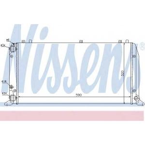 ��������, ���������� �������� 604361 nissens - AUDI 80 (89, 89Q, 8A, B3) ����� 1.6