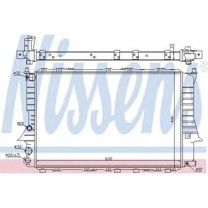 NISSENS 60457 Радіатор охолоджування