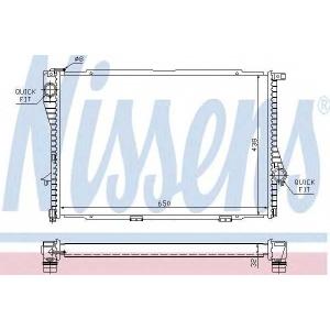 NISSENS 60648A Радіатор охолоджування