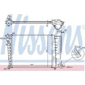 NISSENS 61335A Радиатор, охлаждение двигател