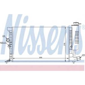 NISSENS 61399A Радиатор, охлаждение двигател