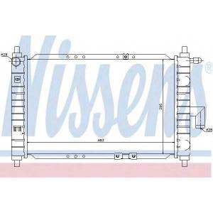 Радиатор, охлаждение двигател 61646 nissens - DAEWOO MATIZ (KLYA) Наклонная задняя часть 0.8