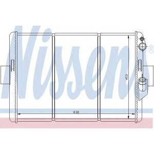 Радиатор, охлаждение двигател 62288 nissens - IVECO DAILY I c бортовой платформой/ходовая часть c бортовой платформой/ходовая часть 30-8 (10011131, 10011132, 10011231, 10011232, 10011237...)