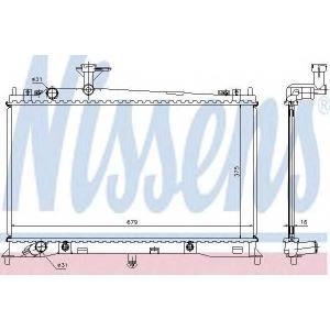 NISSENS 62463A Radiator
