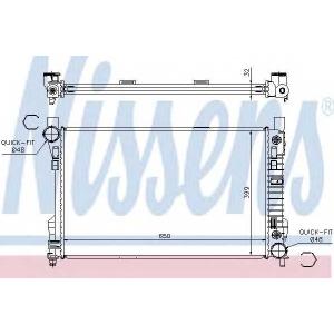 ��������, ���������� �������� 62786a nissens - MERCEDES-BENZ C-CLASS T-Model (S203) ��������� C 220 CDI