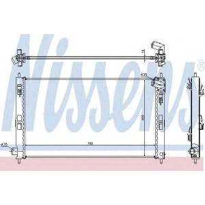 Радиатор, охлаждение двигател 628952 nissens - MITSUBISHI ASX (GA_W_) вездеход закрытый 1.6