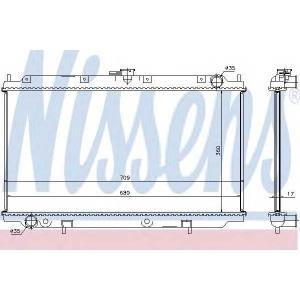 NISSENS 62927A Радіатор охолоджування
