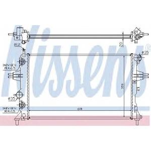 NISSENS 632461 Радіатор охолоджування