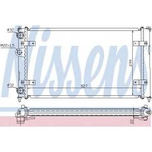 NISSENS 639951 Радиатор охлаждения SEAT, VW (пр-во Nissens)