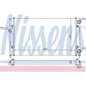 NISSENS 651941 Радіатор охолоджування