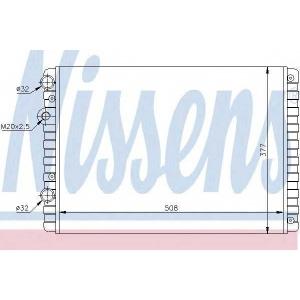 NISSENS 652321 Радиатор, охлаждение двигател