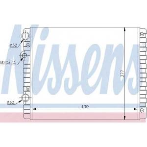 NISSENS 652341 Радіатор охолоджування