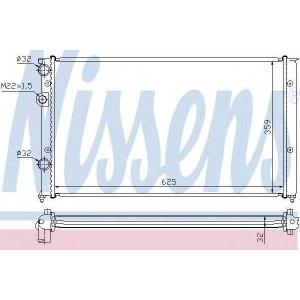 NISSENS 652451 Радіатор охолоджування