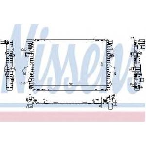 Радиатор, охлаждение двигател 65282a nissens - VW MULTIVAN V (7HM, 7HN, 7HF, 7EF, 7EM, 7EN) вэн 2.0