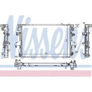 NISSENS 65283A Радиатор охлаждения VW TRANSPORTER T5 (03-) 2.5 TDi (пр-во Nissens)