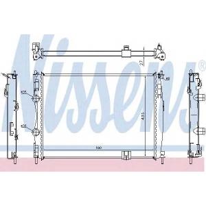 NISSENS 67367 Радиатор NS QASHQAI(07-)1.6 16V(+)[OE 21400-JD900]