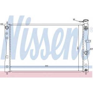 Радиатор, охлаждение двигател 68183 nissens - SMART FORFOUR (454) Наклонная задняя часть 1.1 (454.030)