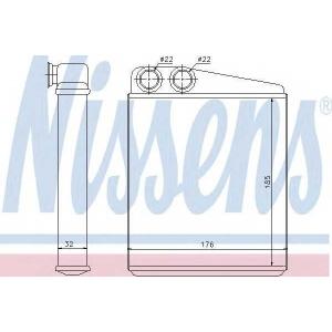 �������������, ��������� ������ 70228 nissens - SEAT LEON (1P1) ��������� ������ ����� 1.6 TDI